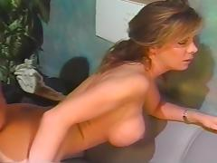 Jay Ashley Frosts Nicki Allister's Pretty Round Face with His Nice Thick Load