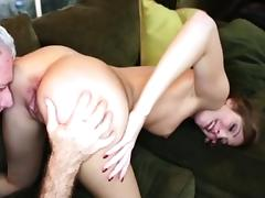 Sweet hot chick Alexa Grace gets fucked by large dick