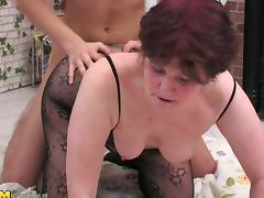 Bend over throbbing tops up matured granny pleasure