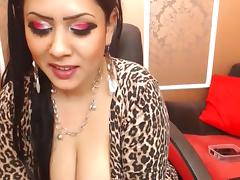 Arab Big Tits, Arab, Big Tits, Boobs, Dance, Fishnet