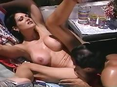 Jeanna Fine Loves To Swallow Black Cock