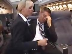 american stewardess handjob part 3