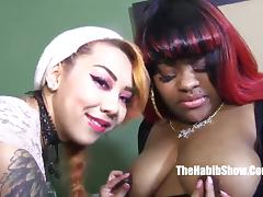 slut hood freaks banged  threesome lovers