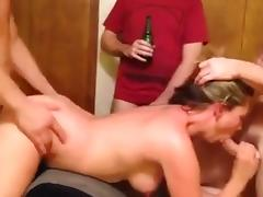 Mom, Amateur, Banging, Gangbang, Group, Husband