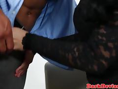 Dominant ladyboy fucking tight ass