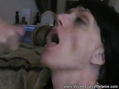 Blonde MILF Melanie Perfect BJ