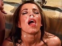 Cum Hungry Slut Takes Multiple Cumshots