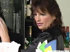 Bar, Anal, Assfucking, Bar, Brunette, Fucking