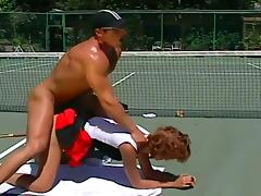 Candy Apples Ass Fucked By Tennis Coach