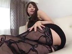 Sexy Japanese Woman Show Big Ass