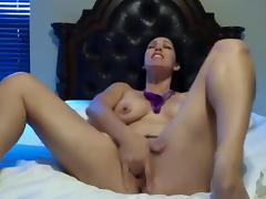 Incredible dirty talking webcam slut