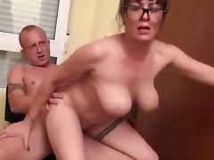 Hot milf and her younger lover 443