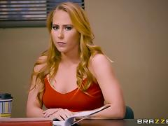 She's called Carter Cruise and she wants that pointy cock inside her!