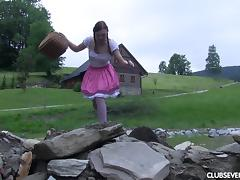 Her name is Morgan and she's an Alpine girl who loves the masturbation