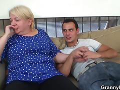 Grandma, Blonde, Doggystyle, Fucking, Granny, Mature