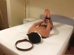 Amateur self bondage
