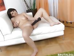 All, Brunette, Dildo, Fucking, Pussy, Toys