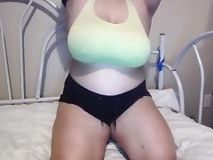 Saggy Hangers on Webcam Slut