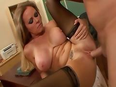 Ass Licking, Ass Licking, Big Tits, Blonde, Blowjob, Exotic