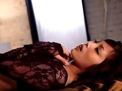 Seductive vixen Rico Yamaguchi gets her orgasmic twat rammed