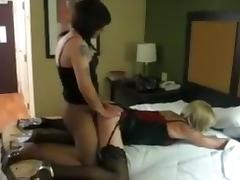 Incredible Amateur Shemale clip with Stockings scenes