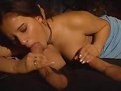 Horny busty babe gets DPed