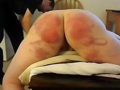 Soft bottom spanking..!!