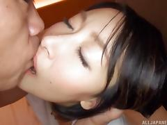 Black-haired chick Eri Ito still loves the good old pussy pounding