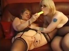 Two french mature lesbians