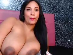 Latina webcam model