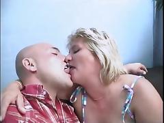 Old horny mom