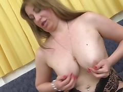 Gorgeous Euro MILF Katenka pleasures her juicy twat