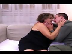 Mature Granny Fucked By A Younger Man