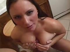 Crazy pornstar in exotic brunette, big tits sex movie