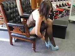 Heels, Amateur, Black, Boots, Heels, Lingerie