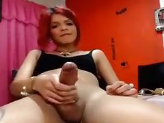 Exotic Homemade Shemale clip with Latin, Big Dick scenes