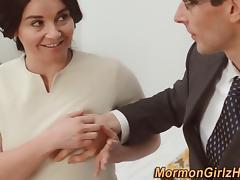 Mormon babes tits cumshot