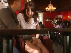Luscious Asian hooker Riku Yamaguchi enjoys being banged hard
