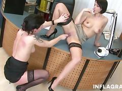 Lesbian Milf Secretaries