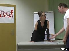 Real German Secretary Milf
