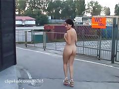 Beata - nude in public