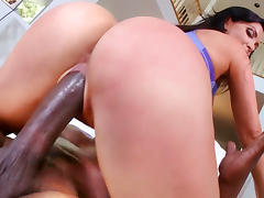 Big black cock for Nikki Benz