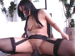 Incredible pornstar Yazmene Milan in fabulous latina, facial adult clip