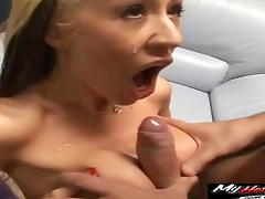 Hardcore fucking session with a chick in sexy red boots