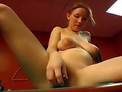 Busty pussy entertains Nastka