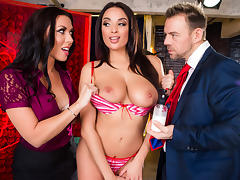 Anissa Kate & Rachel Starr & Erik Everhard in You Can Cream On Me - Brazzers
