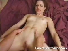 Betty is looking forward to feeling two cocks at once