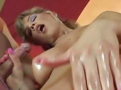 Incredible pornstar in fabulous big tits, swallow porn video