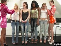 All, Babe, Ebony, Jeans, Lesbian, Naughty
