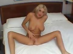 Big tit blonde picked up for sex